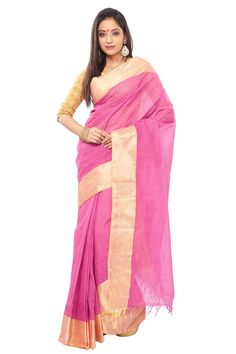 This designer collection is handpicked from Kolkata (West Bengal ). It is latest, designer, high quality Handloom ,designer saree  with Designer Border . Our each Saree is unique,designer and individually crafted to give a gorgeous  look to Indian personality