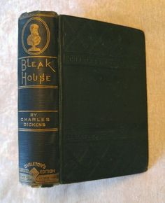 Bleak House by Charles Dickens Antique 1883 Illustrated Carleton's Edition in Books, Antiquarian & Collectible | eBay