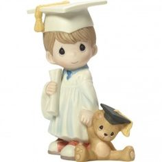 Precious Moments Love You Bunches Mom Boy Bisque Porcelain 183005 Figurine One Size Multicolor