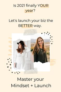 The stressed out frazzled version of you trying to create your business is SO 2020. Let's get you on the right track mentally and in your biz and Take on 2021 like a lion that you are. Click to find out more.