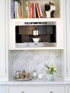 Coffee Countertop Niche