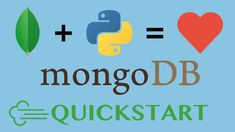 MongoDB and Python: Quickstart - Up and running with mongoengine. Learn MongoDB with Python and mongoengine. In this short, free course, we will build an AirBnB knock-off using Python and MongoDB. Programming Languages, Computer Programming, Learn To Code Python, Writing Code, Programming Tutorial, Free Courses, Online Courses, Up And Running