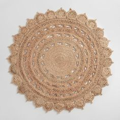 Round Woven Jute Area Rug by World Market – Round Rugs Living Room Natural Fiber Rugs, Natural Rug, Jute Rug, Woven Rug, Affordable Area Rugs, Circle Rug, Rug World, Farmhouse Rugs, Diy Carpet