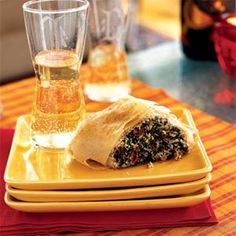 7 Ways With Phyllo Dough   Spinach, Sun-Dried Tomato, and Parmesan Rolls   MyRecipes