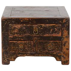 Small Antique Kang Table