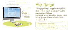 #Web #Design - Cosa ti possiamo offrire?!  Siti Web Istituzionali e Professionali, #Social #Media, Analisi posizionamento, #SEO e Social Media Russo, Portali Aziendali - #Community, Web #Marketing e Social Media, #Wordpress, Minisiti e Landing Page, SEO, Siti di e-commerce.  Chiedi info: http://www.infinitodesign.it/design-multidisciplinare/web-design/