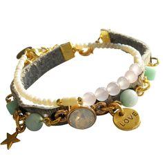 Swarovski White & pearls | Armbanden | by SOOS