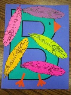 Letter B for Bird Craft