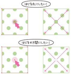 パターンの位置を楽して合わせる方法 | 鈴木メモ