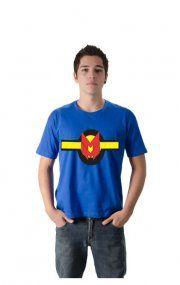 Camiseta Miracleman Logo, Unissex, Variedade de Cores e Tamanhos.