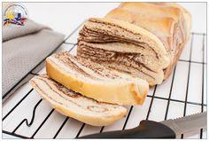 Chocolate Marble Bread Using Tangzhong Method