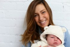 The fabulous Zoe Foster Blake and gorgeous son Sonny. Amazing hair! Love the layers.