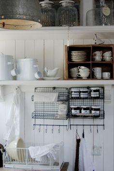 Inspiration cuisine – rangements ouverts – Cocon de décoration: le blog
