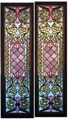 Vintage stained glass