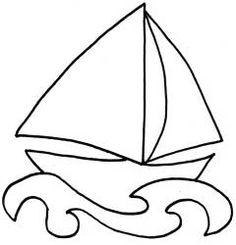 sailboat for Ty Christians quilt
