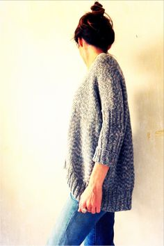 Soooversize sweater pattern by Sooo