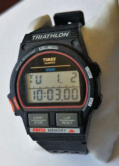 1991 vintage timex #ironman #triathlon mens watch #sports digital very good cond!,  View more on the LINK: http://www.zeppy.io/product/gb/2/172501238762/