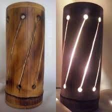 Resultado de imagen para lamparas en bambu