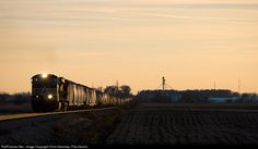 RailPictures.Net Photo: NS 9349 Norfolk Southern GE C40-9W (Dash 9-40CW) at Monnett, Ohio by Chris Henchey (The Hench)
