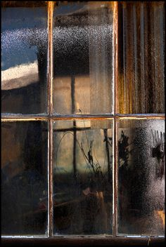 Through the window (reflection of rain) Wabi Sabi, Window View, Rain Window, Window Panes, Through The Window, Light And Shadow, Belle Photo, Windows And Doors, Art Photography