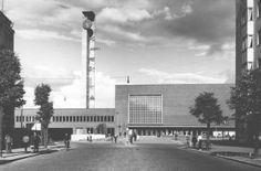 Tampereen rautatieasema (Flodin, Seppälä 1936) Cn Tower, Building, Travel, Collection, History, Finland, Voyage, Buildings, Viajes