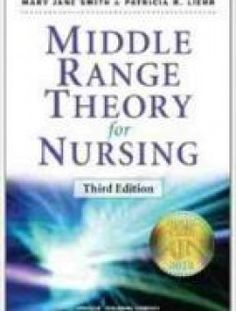 Middle Range Theory for Nursing, 3rd edition - Free eBook Online