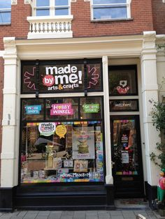Adres en Openingstijden | Made by Me! Arts & Crafts