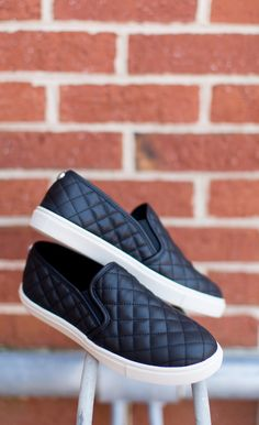 """The slip-on sneaker with serious style. Details: - Diamond quilting - Synthetic upper/leather, synthetic lining/synthetic sole - 1"""" platform                                                                                                                                                     More"""