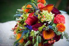 Stunning Bridal Wedding Bouquet / Jennifer Klotz Photography / The Dominion House