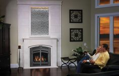 Napoleon Starfire Direct Vent Gas Fireplace with Electronic Ignition - 38 Inch