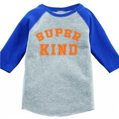 Super Kind Kids Baseball Tee