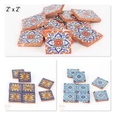 Talavera Tiles Ceramics & Pottery from Mexico - Artemex Bathroom Table, Mexican Home Decor, Hand Painted Ceramics, Counter Tops, Home Decor Items, Ceramic Pottery, Tiles, Home And Garden, Kitchen