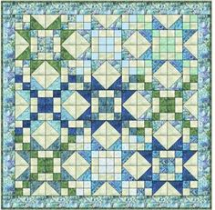 Starlight Quilt Pattern By Kari Ramsay - Fresh Cut Quilts NO BARCODE - Quilt in a Day Patterns