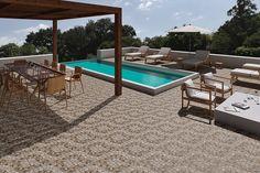 Terrazas - Aplicaciones - Hazlo con Cerámicos Kobe, Patio, Ping Pong Table, Outdoor Furniture, Outdoor Decor, Exterior, Home Decor, Walls, Facades