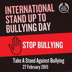 Did you know that the International Stand Up To Bullying Day started by Travis Price and David Shepherd, two students who took a stand for a fellow student who was bullied for wearing a pink shirt to school. Hence, pink is the pledge shirt colour for this day