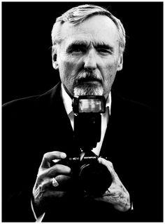 Dennis Hopper. Photographer Portrait, by Brian Low