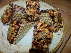 www.przepismamy.pl: Wafle czekoladowo - orzechowe