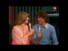 """Don't Go Breaking My heart"" Toni Tennille and John Travolta  (Captain is playing in the background)"