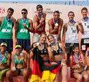 FIVB - Beach Volleyball - World Cup Final - Podium