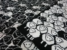Ravelry: Counting Sheep Blanket pattern by Lisa Hannan Fox
