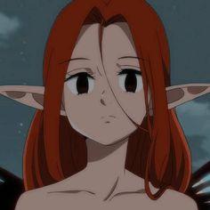Seven Deadly Sins Anime, 7 Deadly Sins, Anime Manga, Anime Guys, Aesthetic Anime, Red Aesthetic, Retro Art, Anime Style, Indian Art
