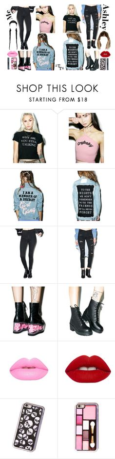 """Hey now, hey now... But does your mama know you dance like that?"" by triple-threat36 ❤ liked on Polyvore featuring O-Mighty, High Heels Suicide, BOY London, Flying Monkey, Y.R.U., ROC, Lime Crime, Nudestix, women's clothing and women"