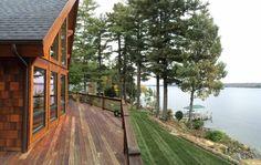 Natural Element Home on Lake Winnisquam, NH