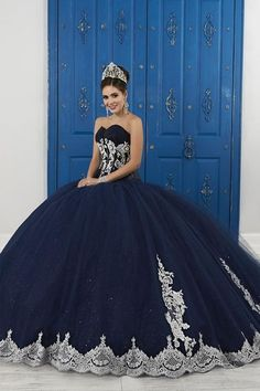 quinceanera dresses Strapless Sweetheart Glitter Dress by House of Wu LA Glitter Glitter by. Sweet 16 Dresses, 15 Dresses, Ball Dresses, Pretty Dresses, Beautiful Dresses, Pageant Dresses, Fashion Dresses, Mexican Quinceanera Dresses, Mexican Dresses