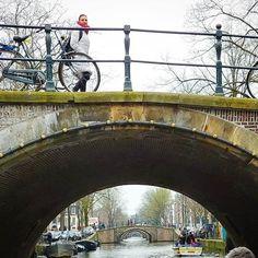 The #zevenbruggen in #amsterdam taken from the  #reguliersgracht