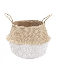 Large White Dipped Belly Basket - our wicker storage baskets perfect baskets for toys, house plants or as simple storage baskets for the home! Nursery Storage, Toy Storage, Storage Baskets, Nursery Decor, Nursery Ideas, Room Decor, Nursery Inspiration, Nursery Design, Storage Organization