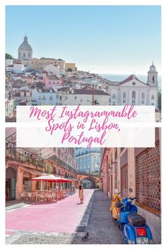 This is a guide to the Most Instagrammable Spots in Lisbon. Lisbon, Portugal is such a photogenic city. Do not miss out on these amazing spots on your next trip to Lisbon! #lisbon #portugal #lisbonportugal #europe #lisboa