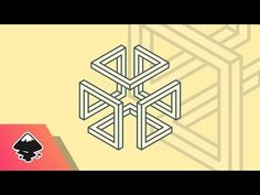 Inkscape Tutorial: Abstract Cube Logo - YouTube