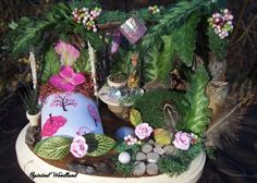 One of a Kind Custom Fairy House Made Just For by SpiritedWoodland, $85.00