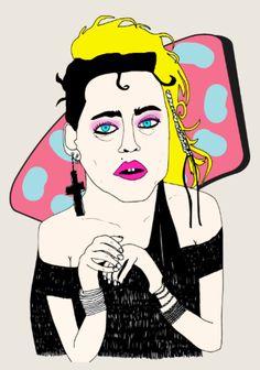 Madonna Like a Virgin - Elena Éper - www.elenaeper.com